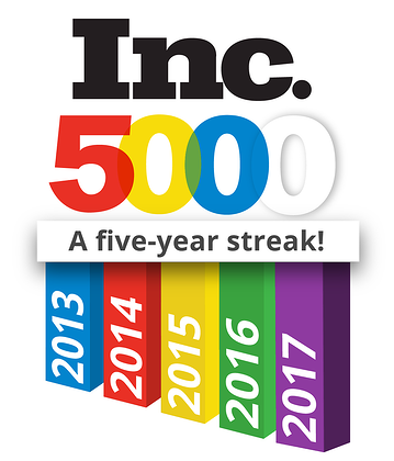 5 Year INC 500 Streak