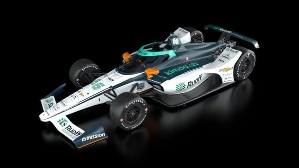 Indy Car Ruoff Reveal_3quarts