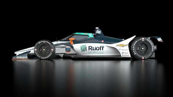 Indy Car Ruoff Reveal_Side